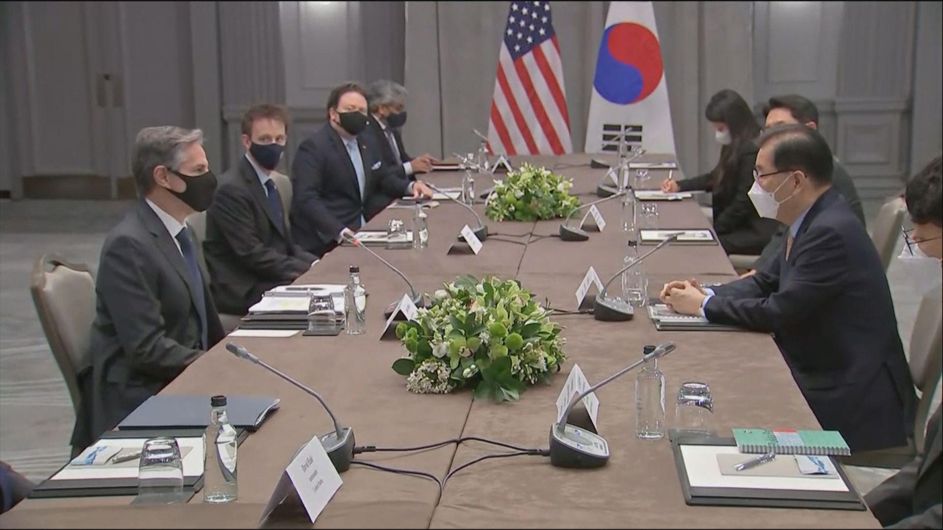 美日韓外長於七國集團會議前舉行雙邊會談