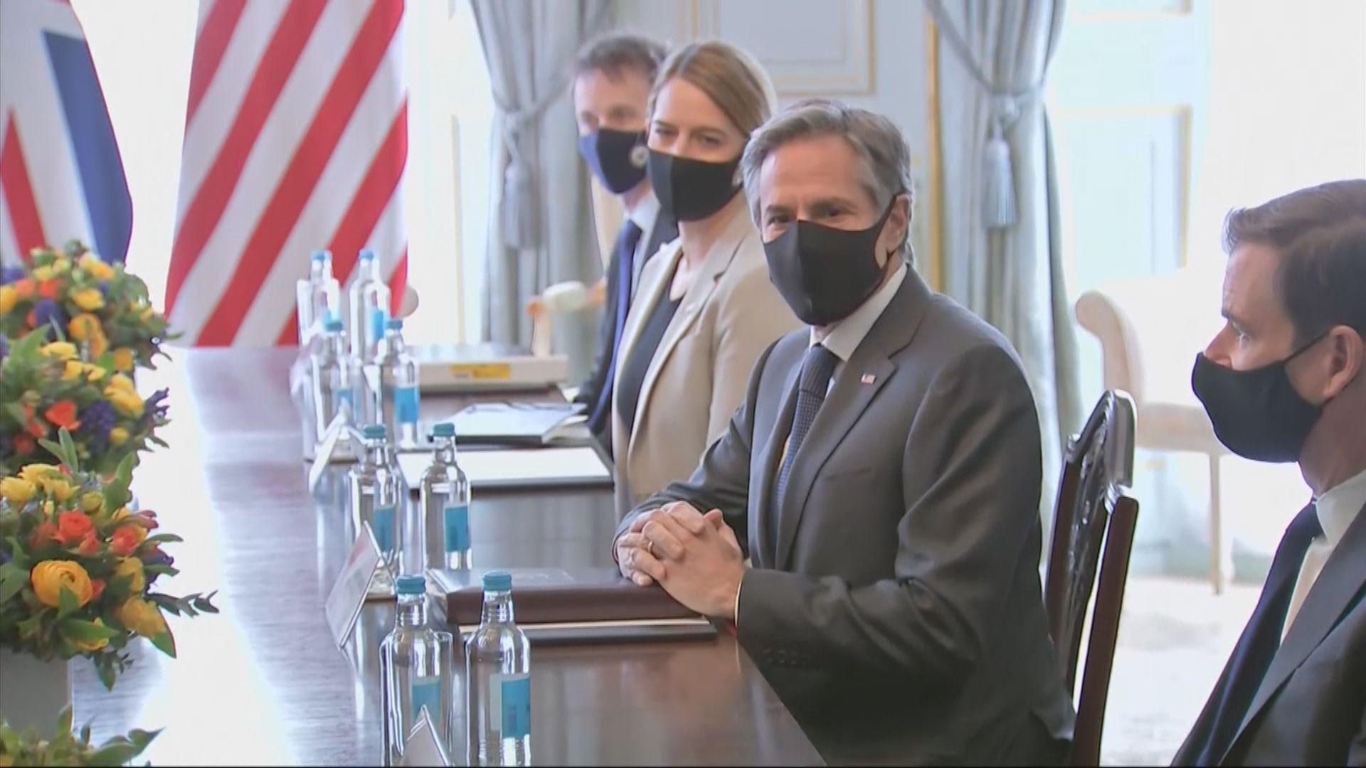 布林肯促北韓以外交途徑打破核問題僵局