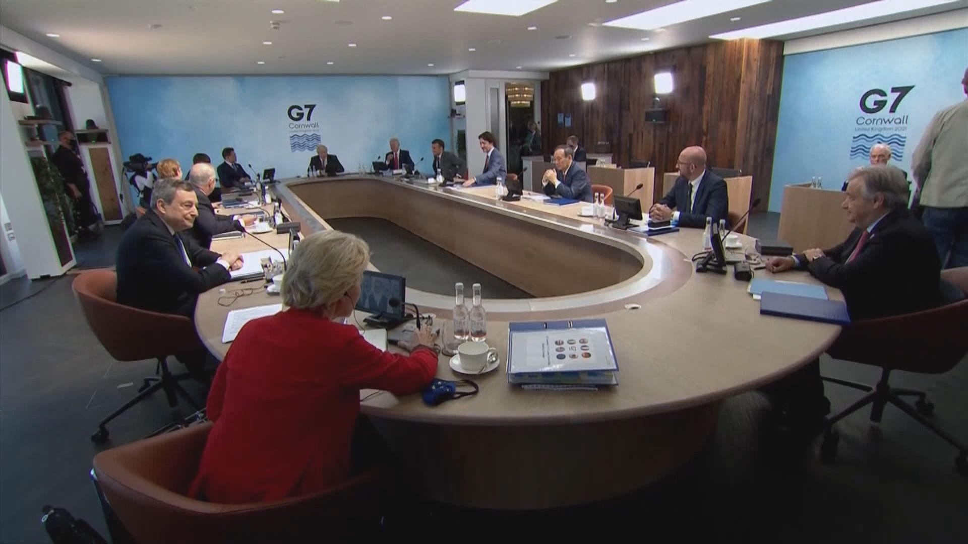 消息指七國集團峰會公報將提及香港