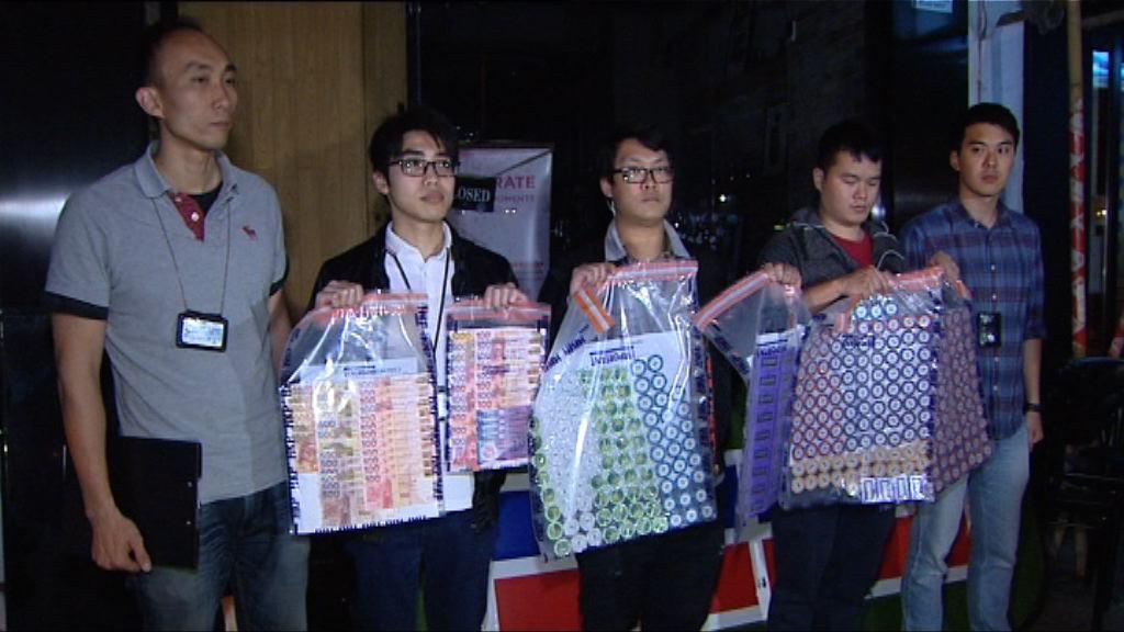 警方破九龍城非法賭檔拘16人
