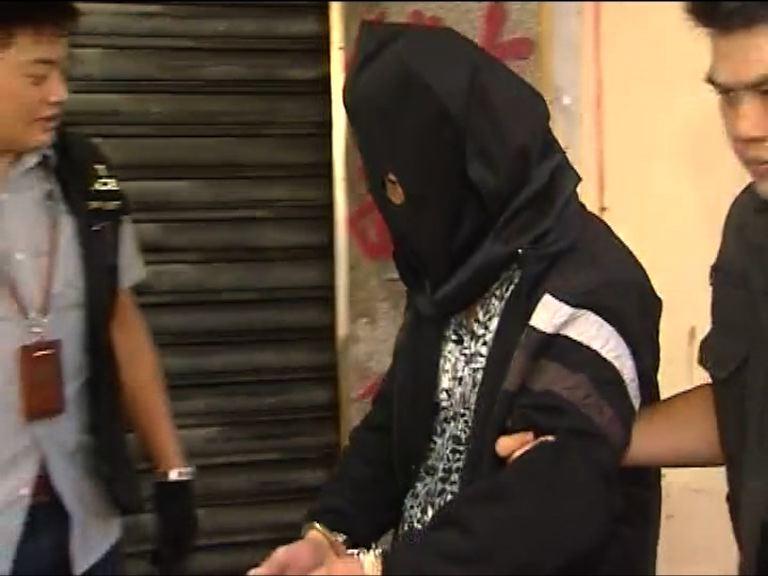 警破網上賭檔檢獲毒品及武器拘九人