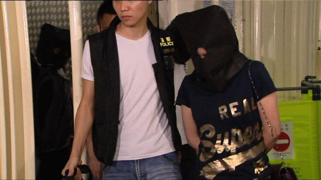 警方打擊非法賭檔拘12男女