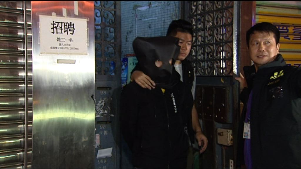 警方反罪惡行動拘38人