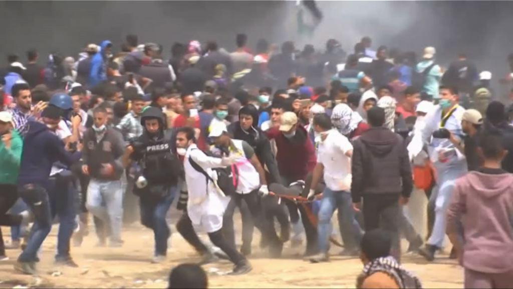 加沙民眾再與以軍衝突至少兩死