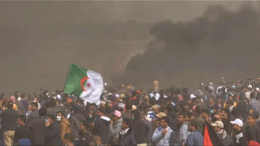 加沙地區示威持續 有巴勒斯坦人被擊斃