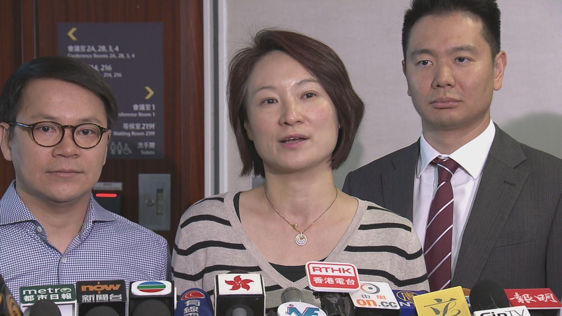 李慧琼:刊憲禁民族黨是向港獨發嚴厲訊息