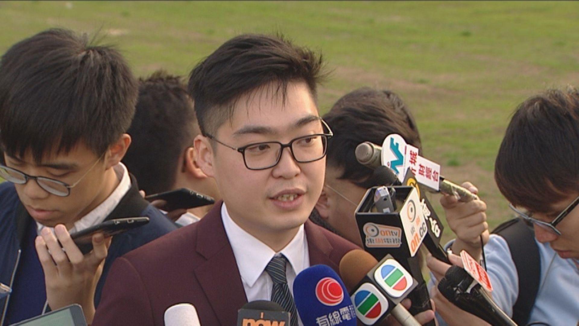 有法律學者指傳媒專訪陳浩天談及港獨或違法