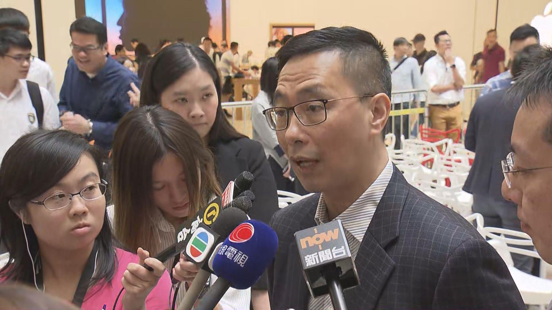 楊潤雄正研究於大灣區辦港式課程學校