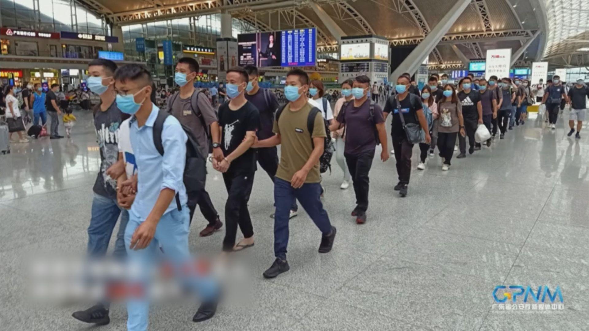 廣東省公安廳打擊粵港偷渡集團 共拘捕80人