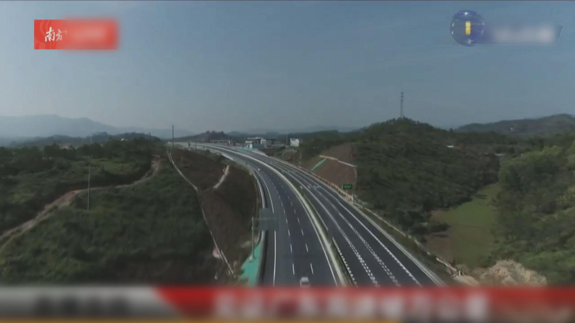 廣東省9條高速公路同步通車 總長度破一萬公里