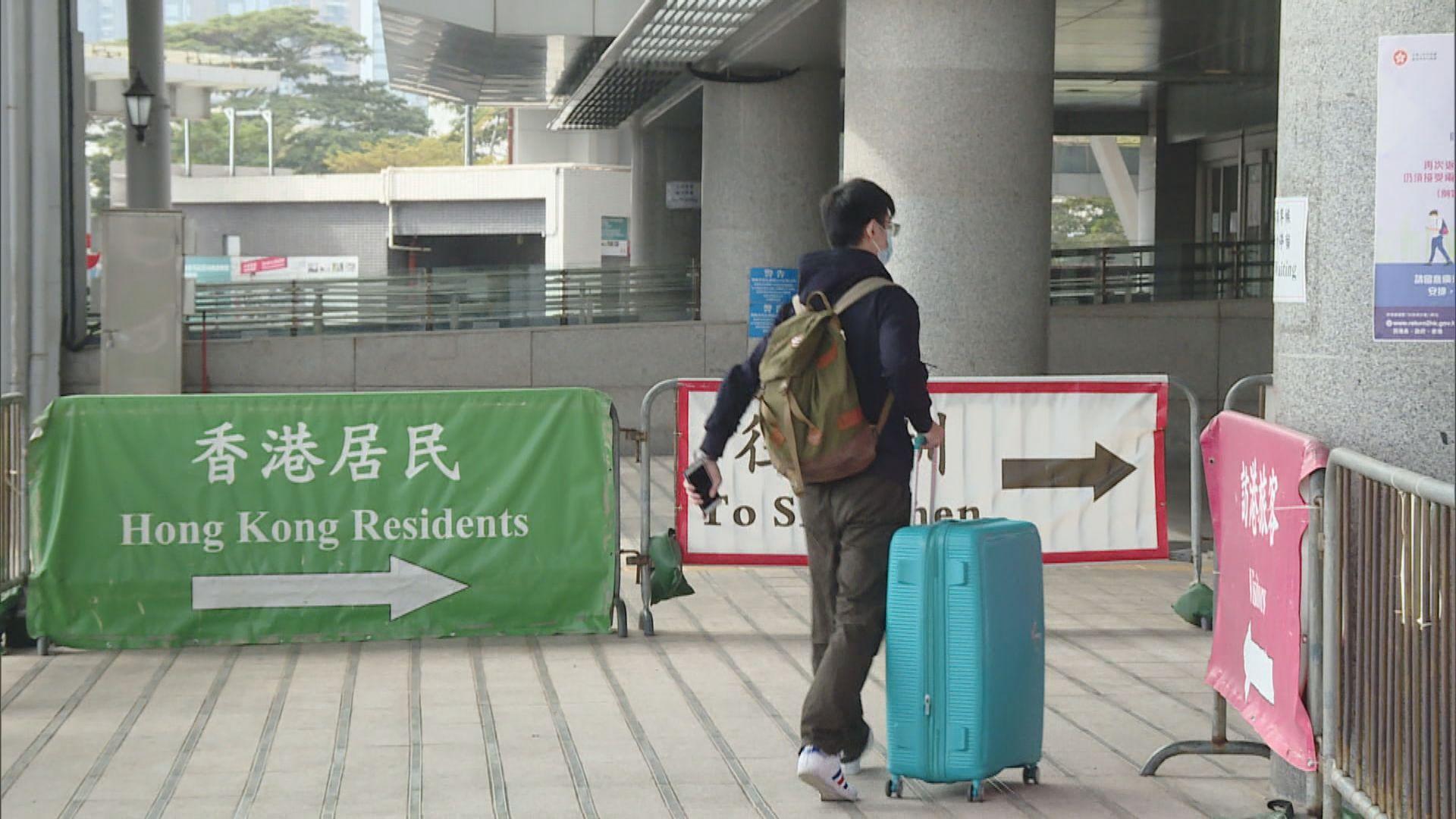 下周一起香港入境廣東須出示鼻咽拭子採樣報告