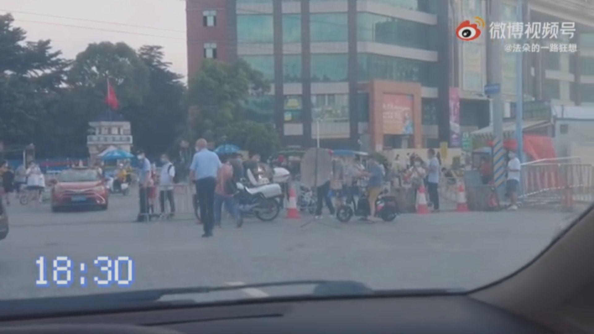 廣州荔灣區18萬人禁足 有居民稱未獲發急需藥物