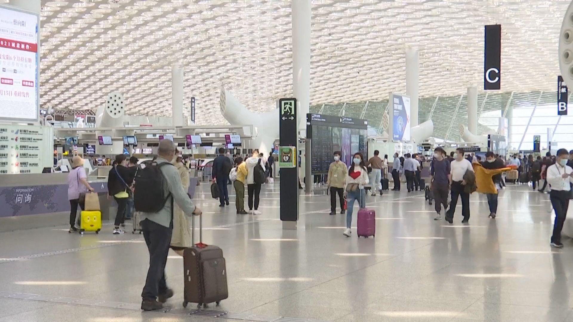 埃及赴華兩航班108人檢測呈陽性 多個航班停飛