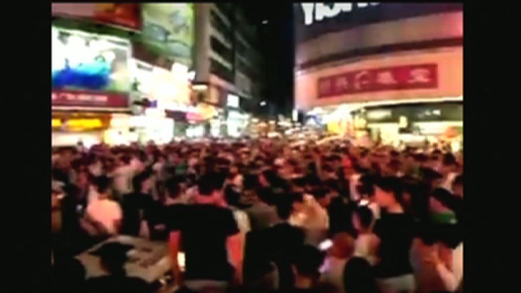 清遠村民抗議反對建垃圾焚化廠