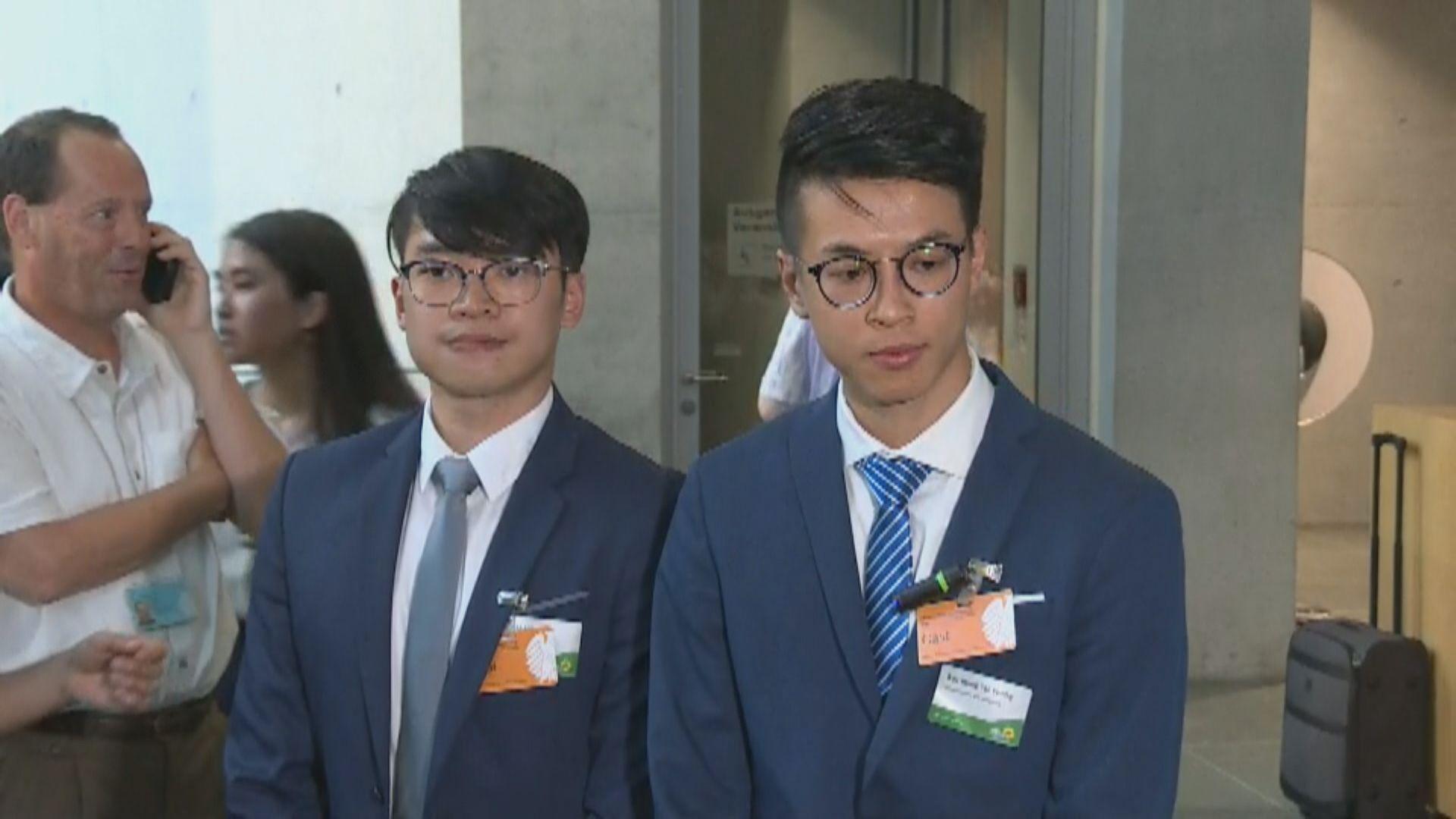 黃台仰︰棄保潛逃尋庇護因感被控暴動罪不公