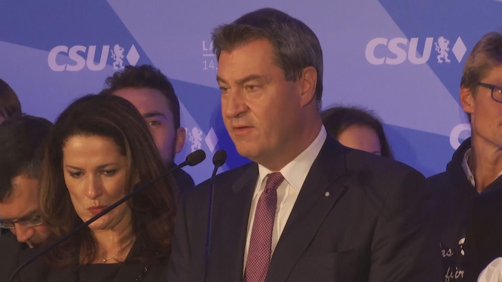 基社盟於巴伐利亞州選舉受挫