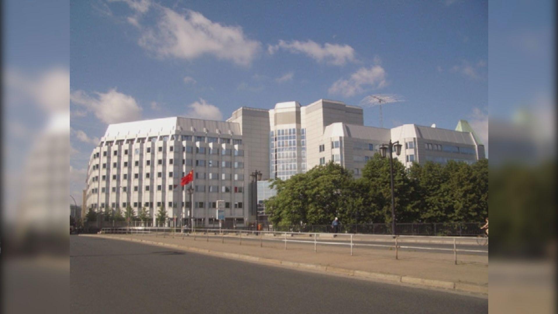 德國一男子企圖縱火中國駐德國使館被捕