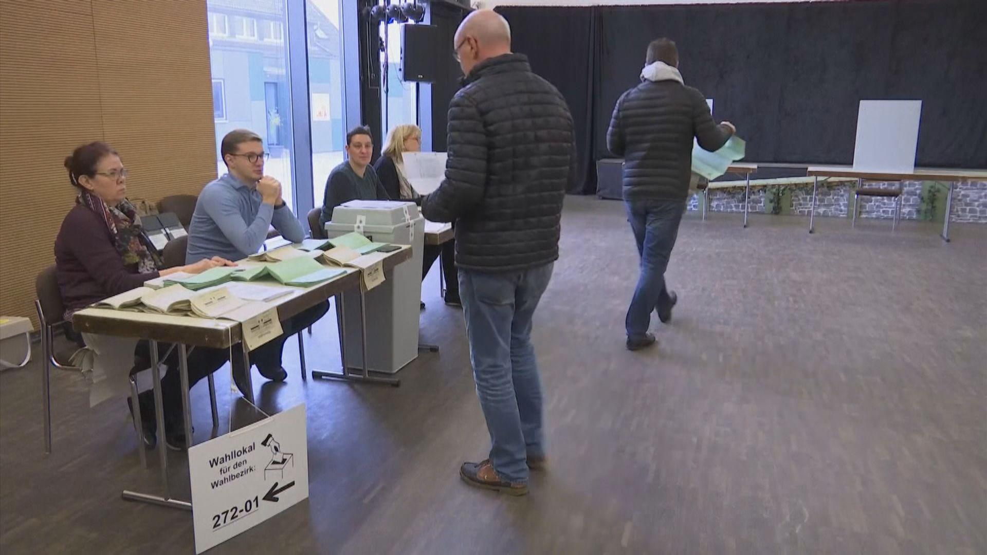 德國中部地方選舉基民盟再受挫