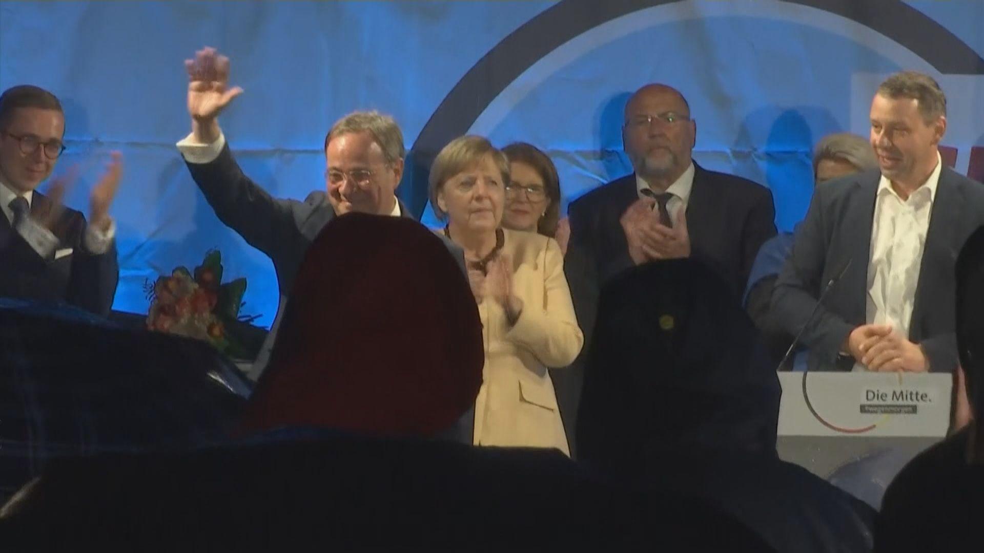 德國周日大選 民調顯示基民盟縮窄與社民黨支持差距