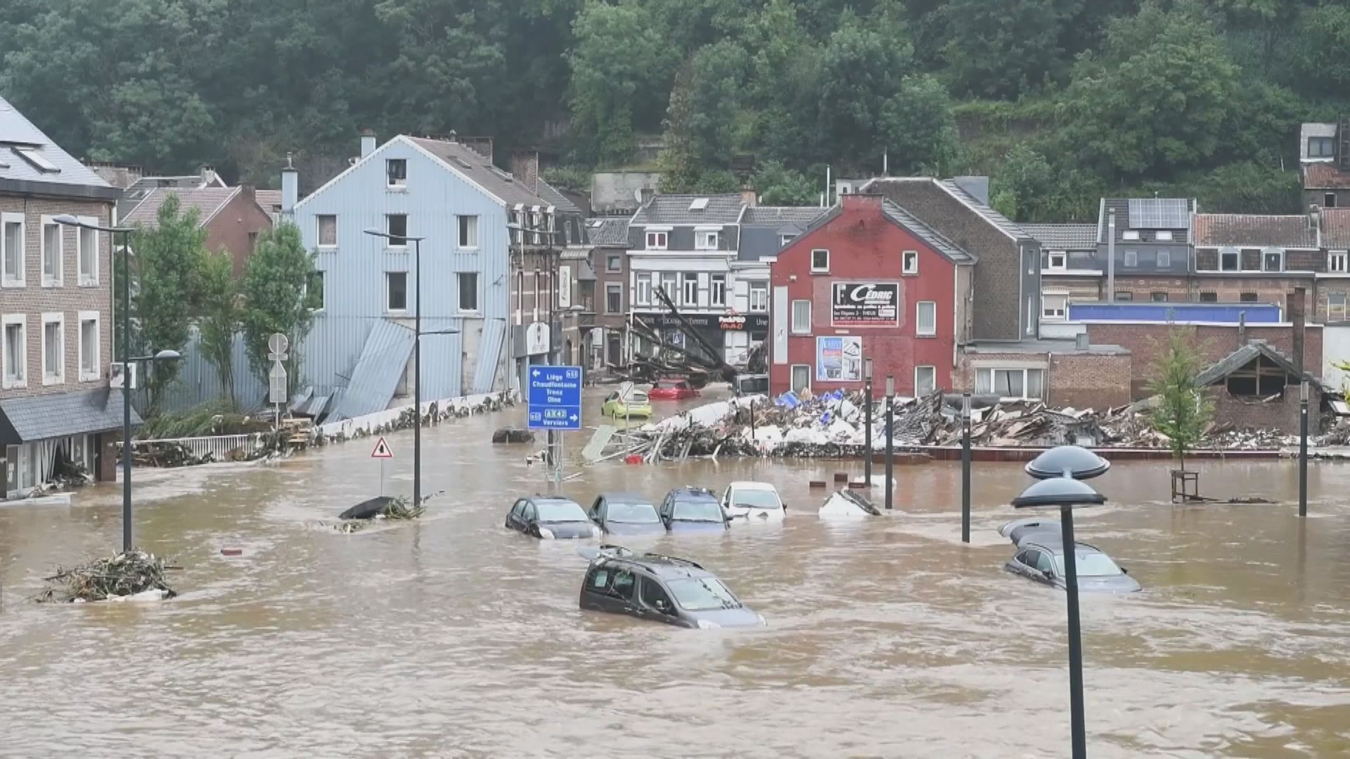 德國及比利時水災仍有多人失蹤