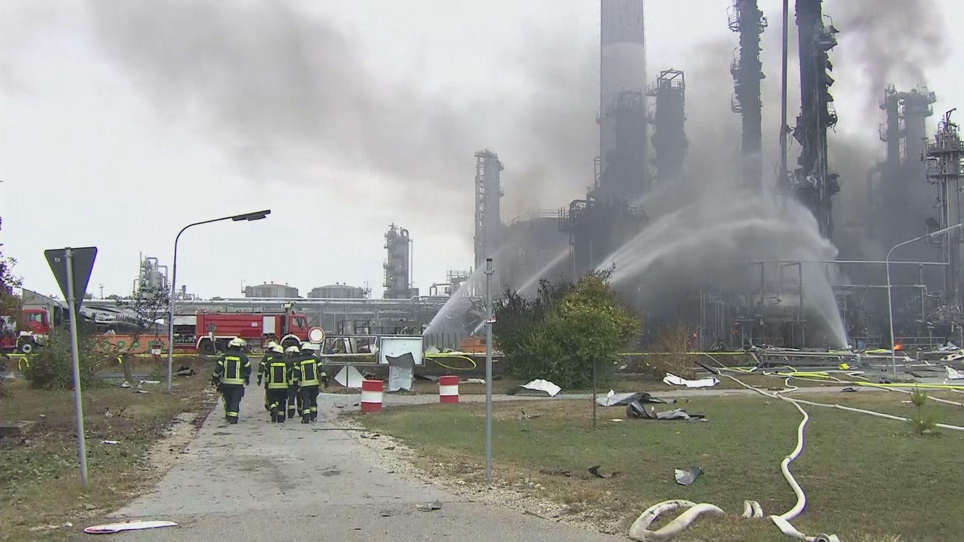 德國有煉油廠爆炸大火 最少八人傷