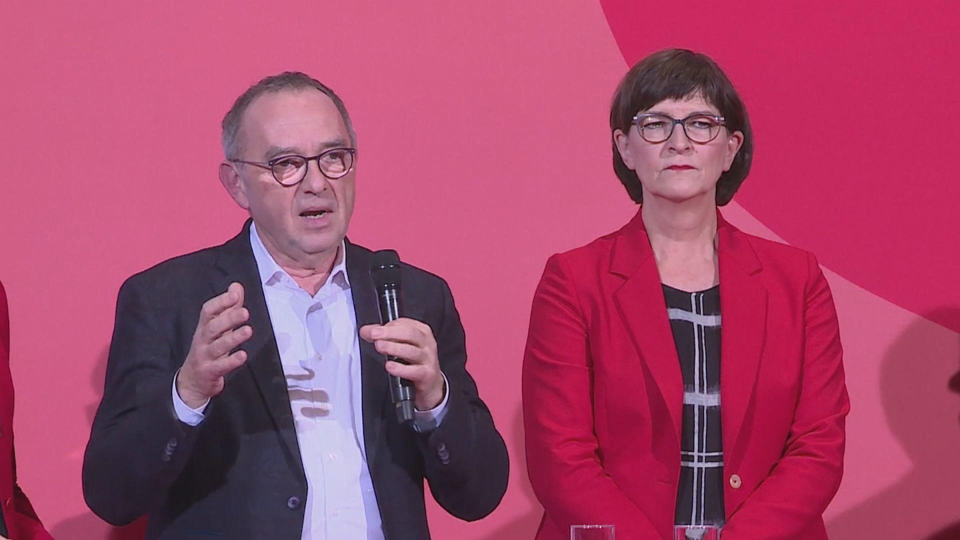 德國社民黨新領袖指首要加強黨內團結