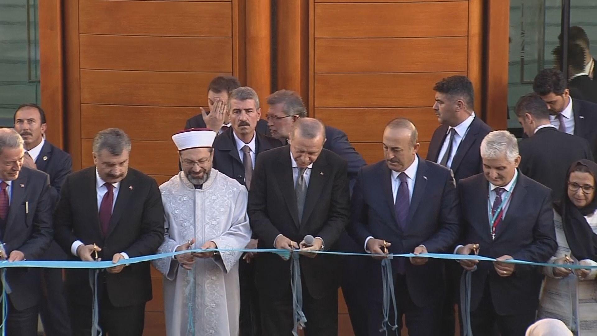 埃爾多安轉抵德國科隆主持清真寺開幕