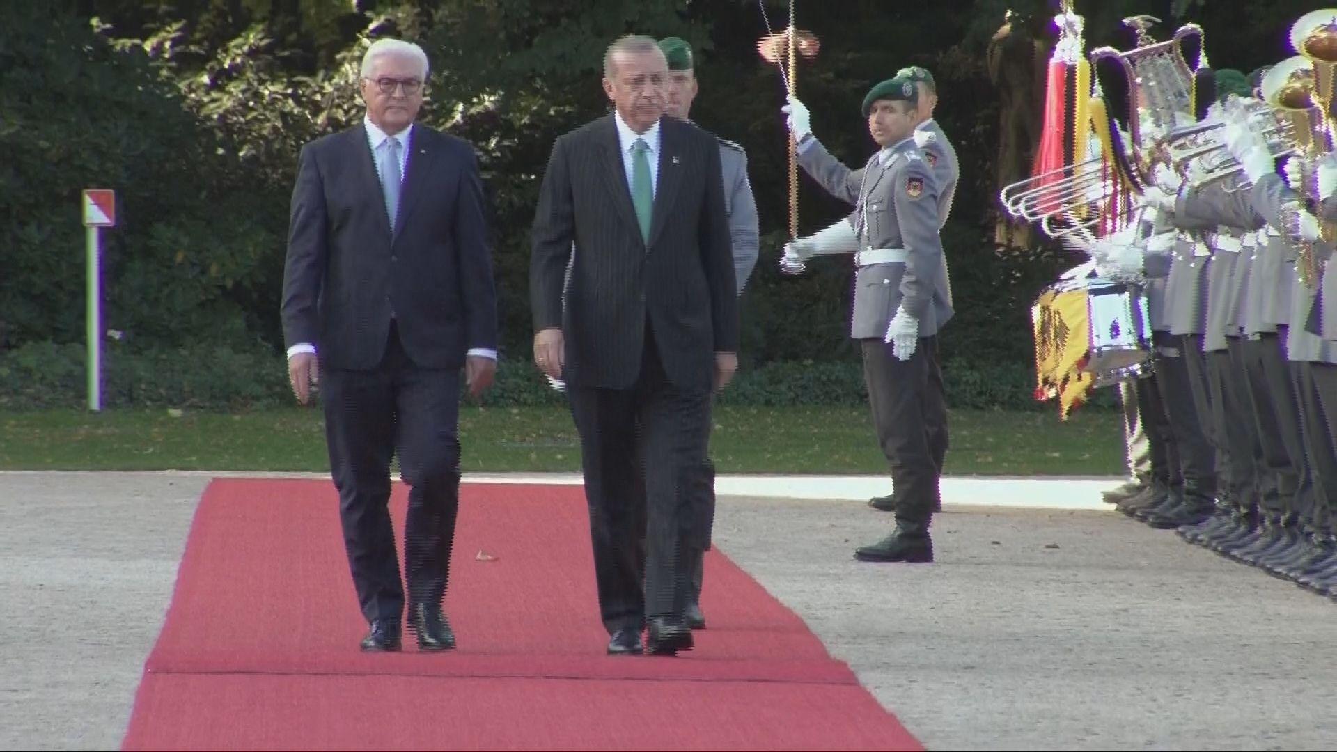 埃爾多安訪問德國 將與默克爾會面