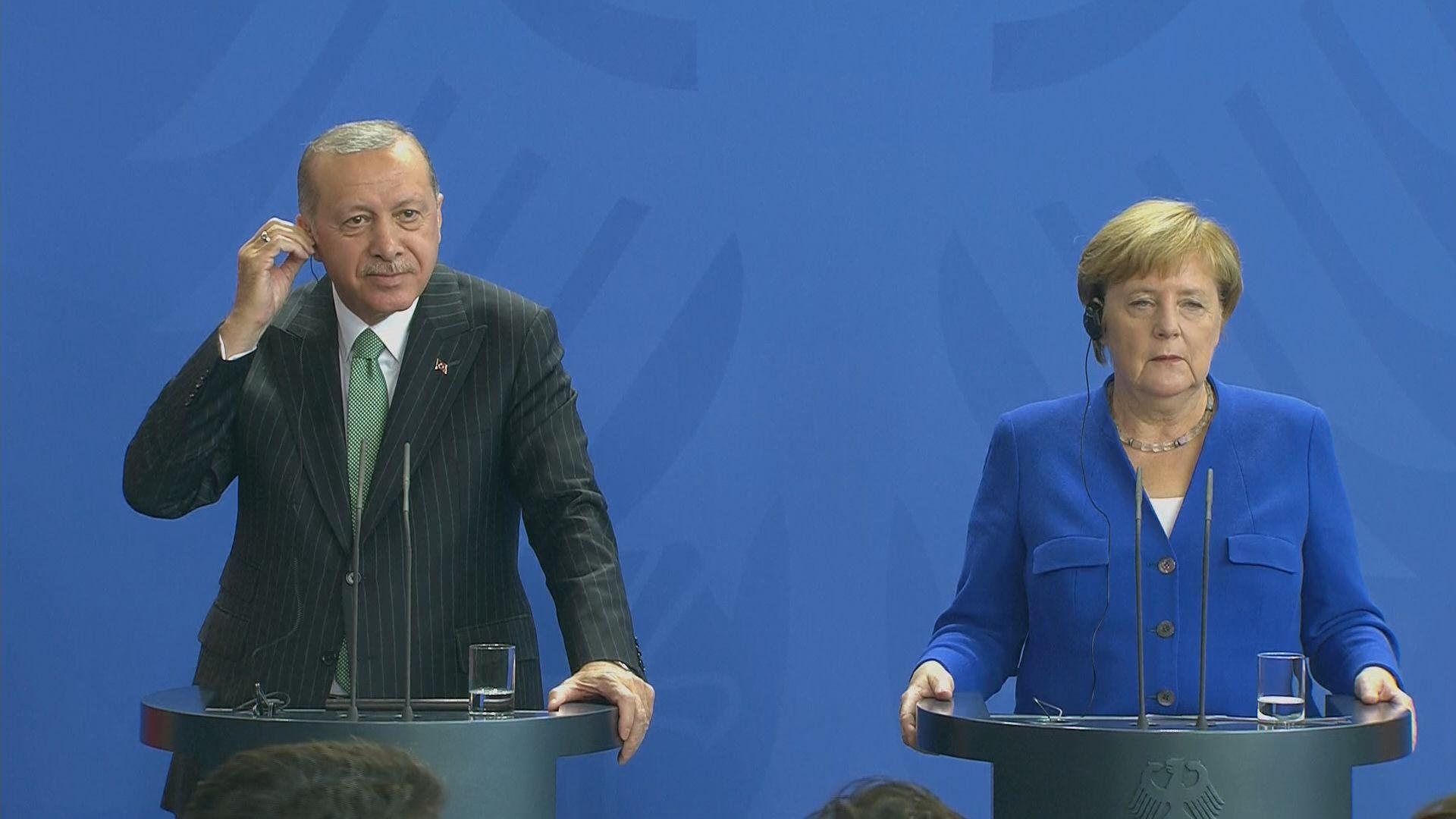默克爾指德國土耳其仍有嚴重分歧