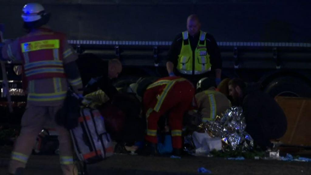 柏林貨車撞聖誕市集12死逾40傷