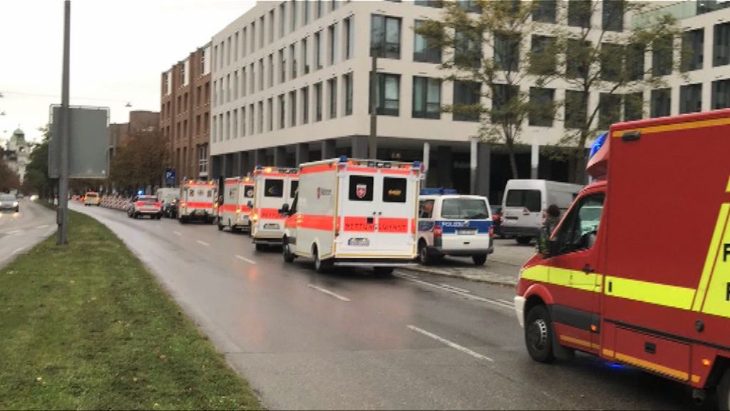 慕尼黑有人持刀施襲至少五傷