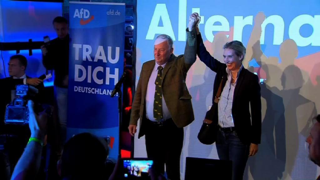 德國大選 極右翼政黨成國會第三大黨