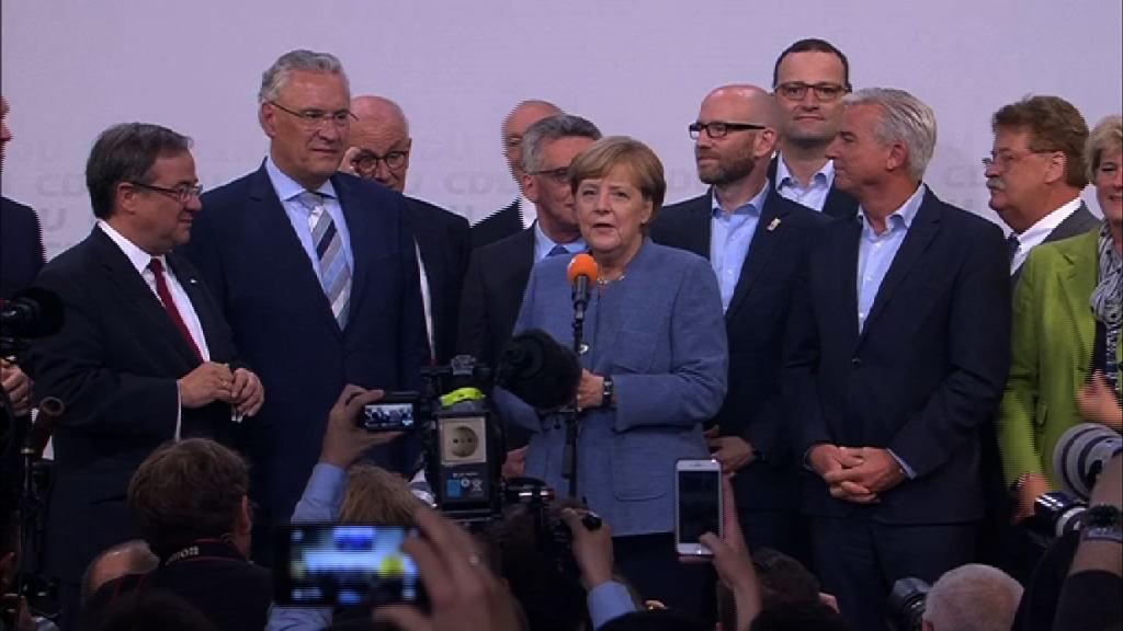 德國大選 第一大黨成績近70年來最差