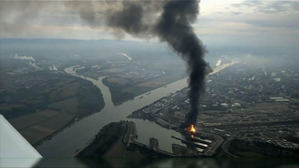 德國化工原料公司廠房爆炸
