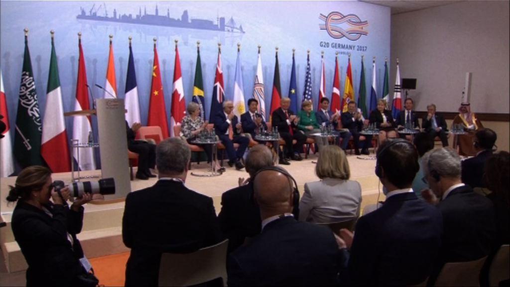 二十國集團舉行第二日峰會