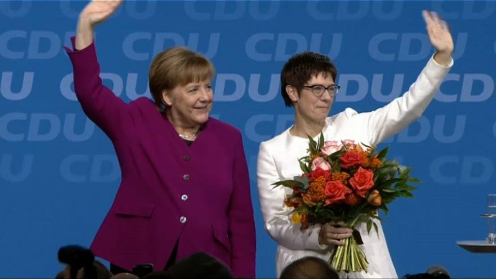 德國基民盟通過與社會黨合組政府協議