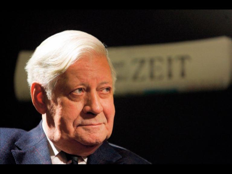 前西德總理施密特病逝終年96歲