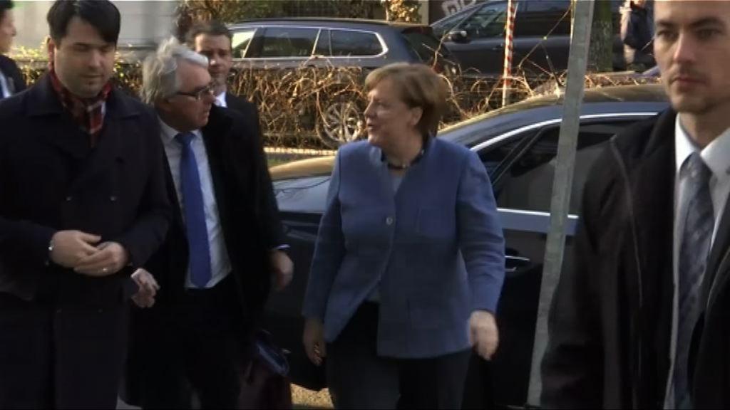德國籌組政府談判周一待續