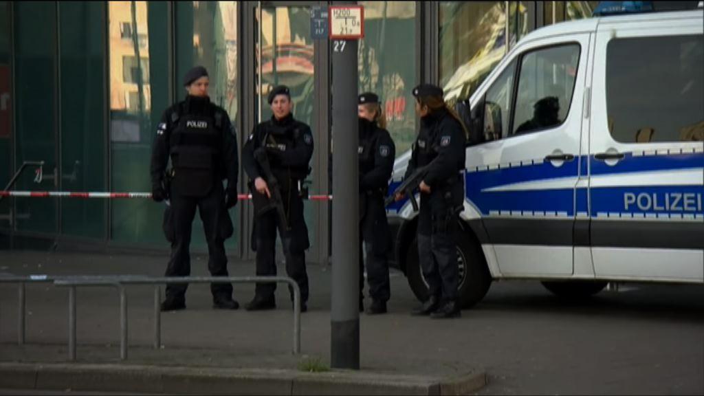 德國購物商場接恐襲威脅一人被扣查