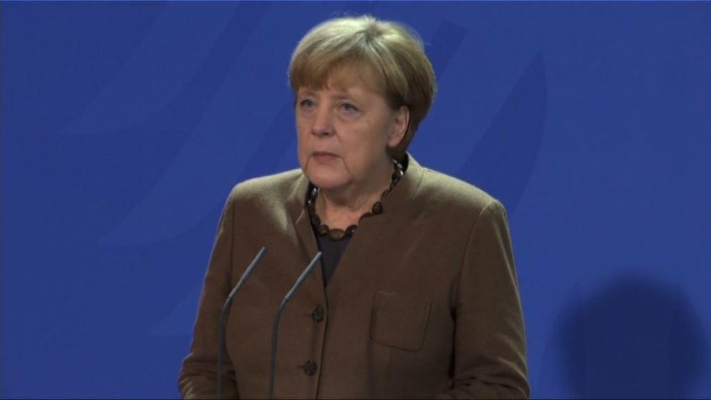 柏林襲擊案 默克爾:會提升國內保安