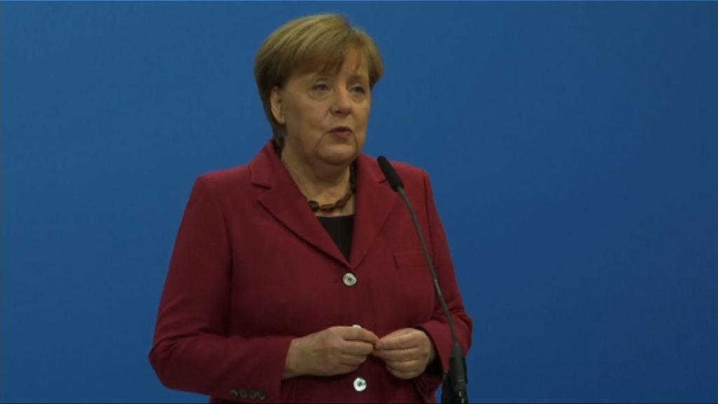 德國基民盟與社民黨展開組閣談判
