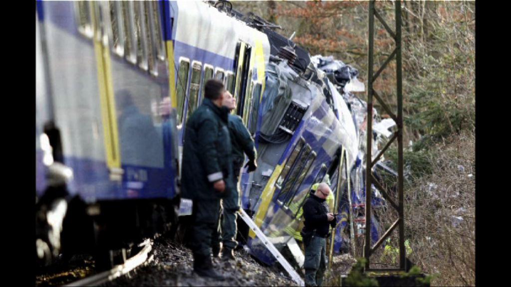 德國兩列列車相撞9死逾百傷