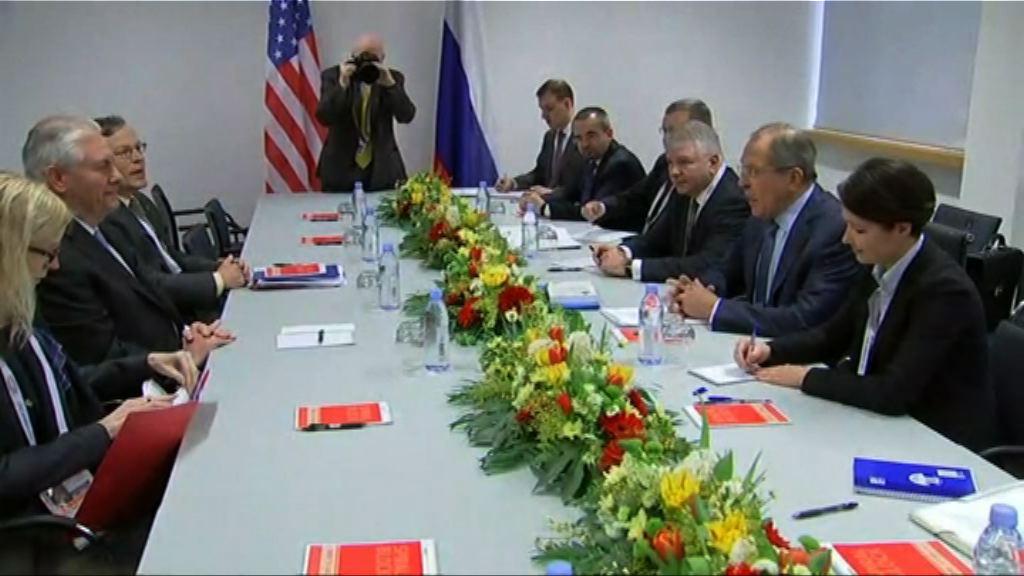 美俄外長首次舉行雙邊會談