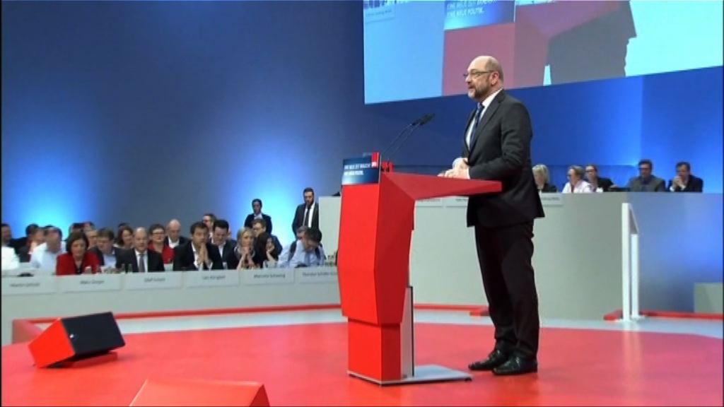 德國社民黨討論是否授權展開組閣談判