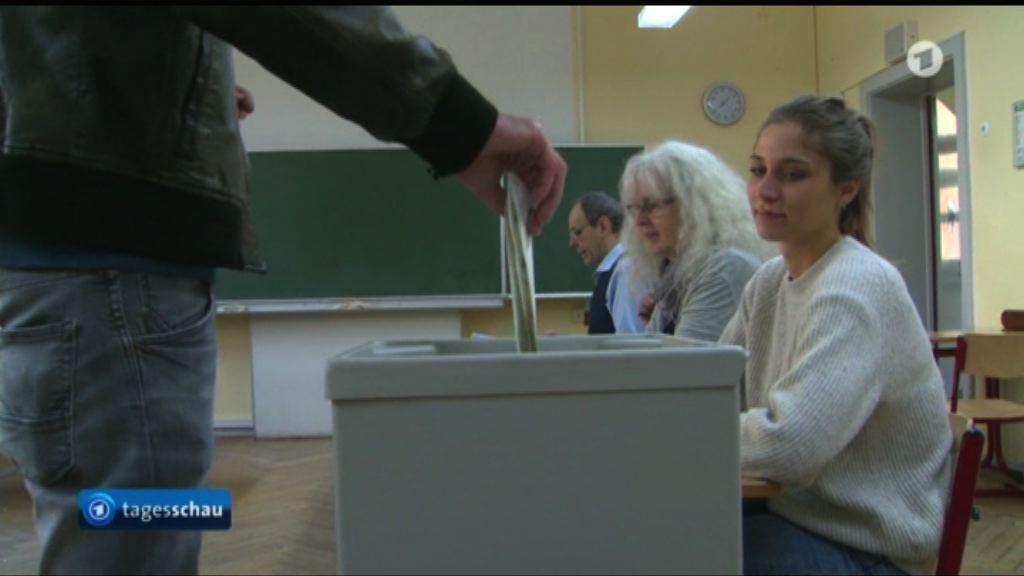 德國北部州份舉行地方選舉