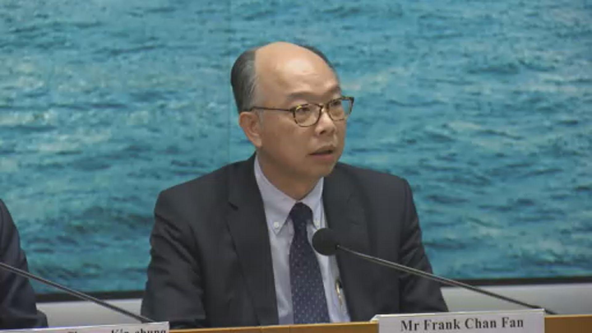 【機場示威】陳帆:集會干擾機場運作 香港付出沉重代價