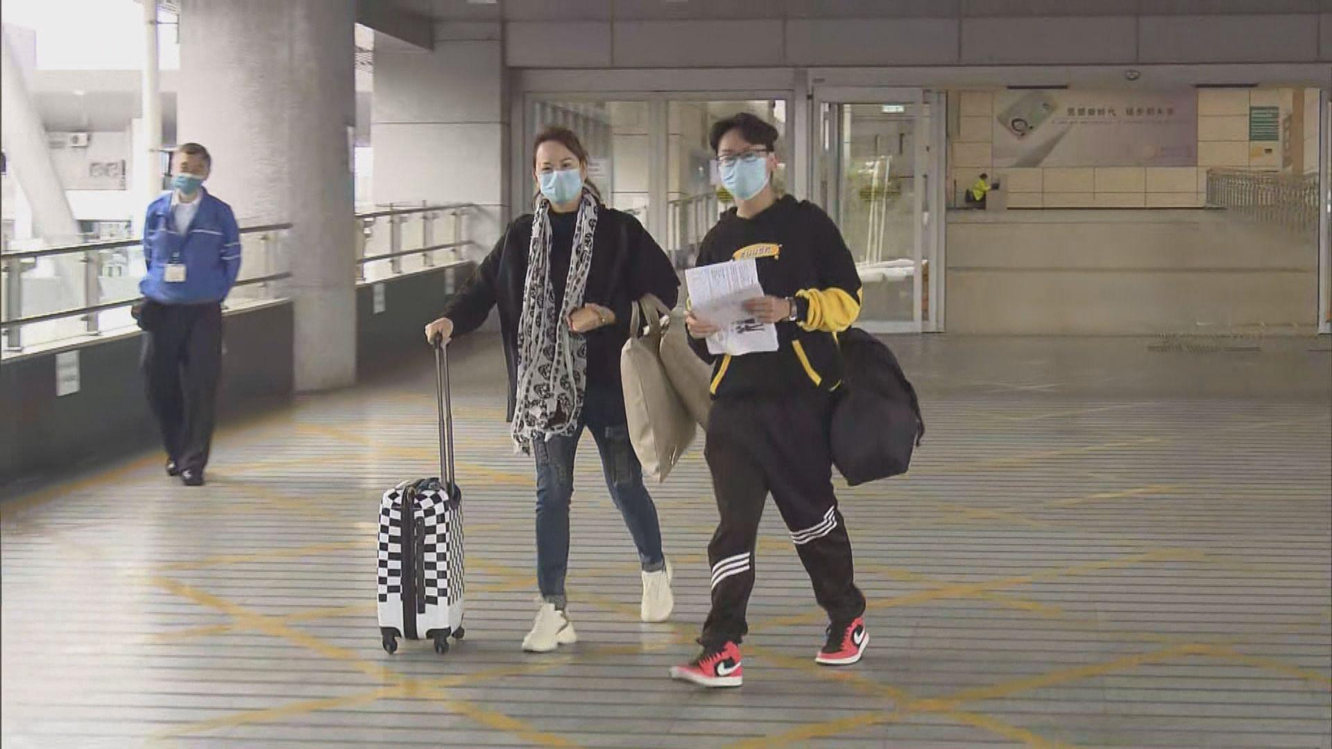 本月23日開始身處粵澳合資格港人入境免檢疫