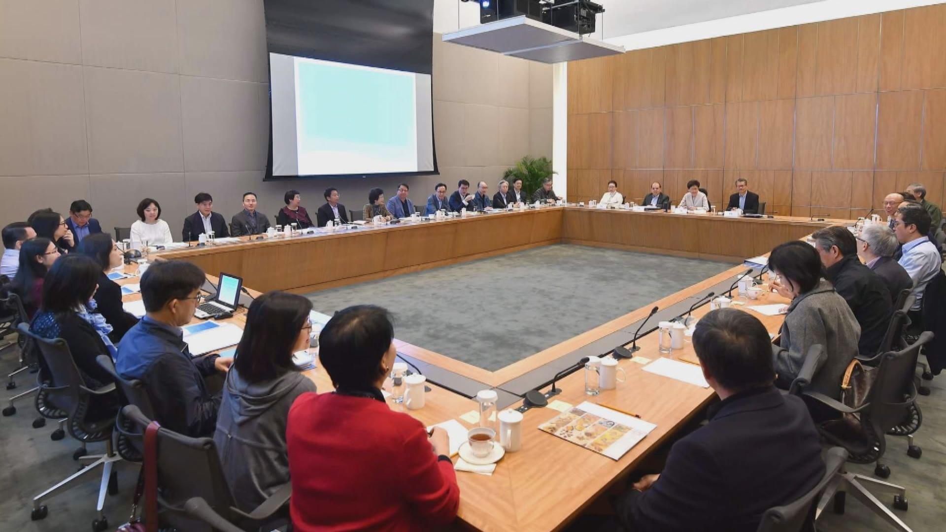 林鄭:集思會同意政府與傳媒關係值得改善