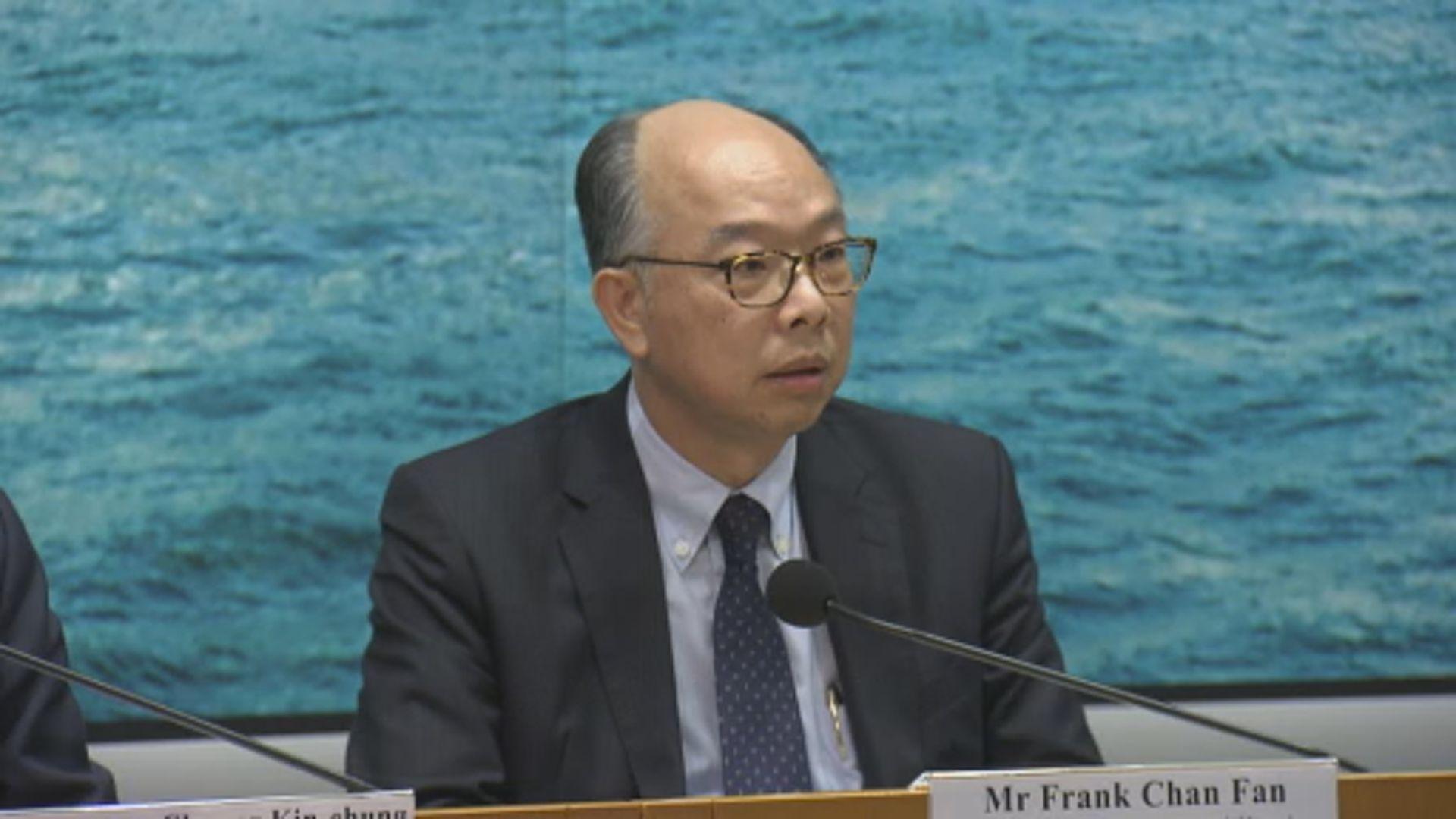 陳帆:干預機場運作令香港付出沉重代價