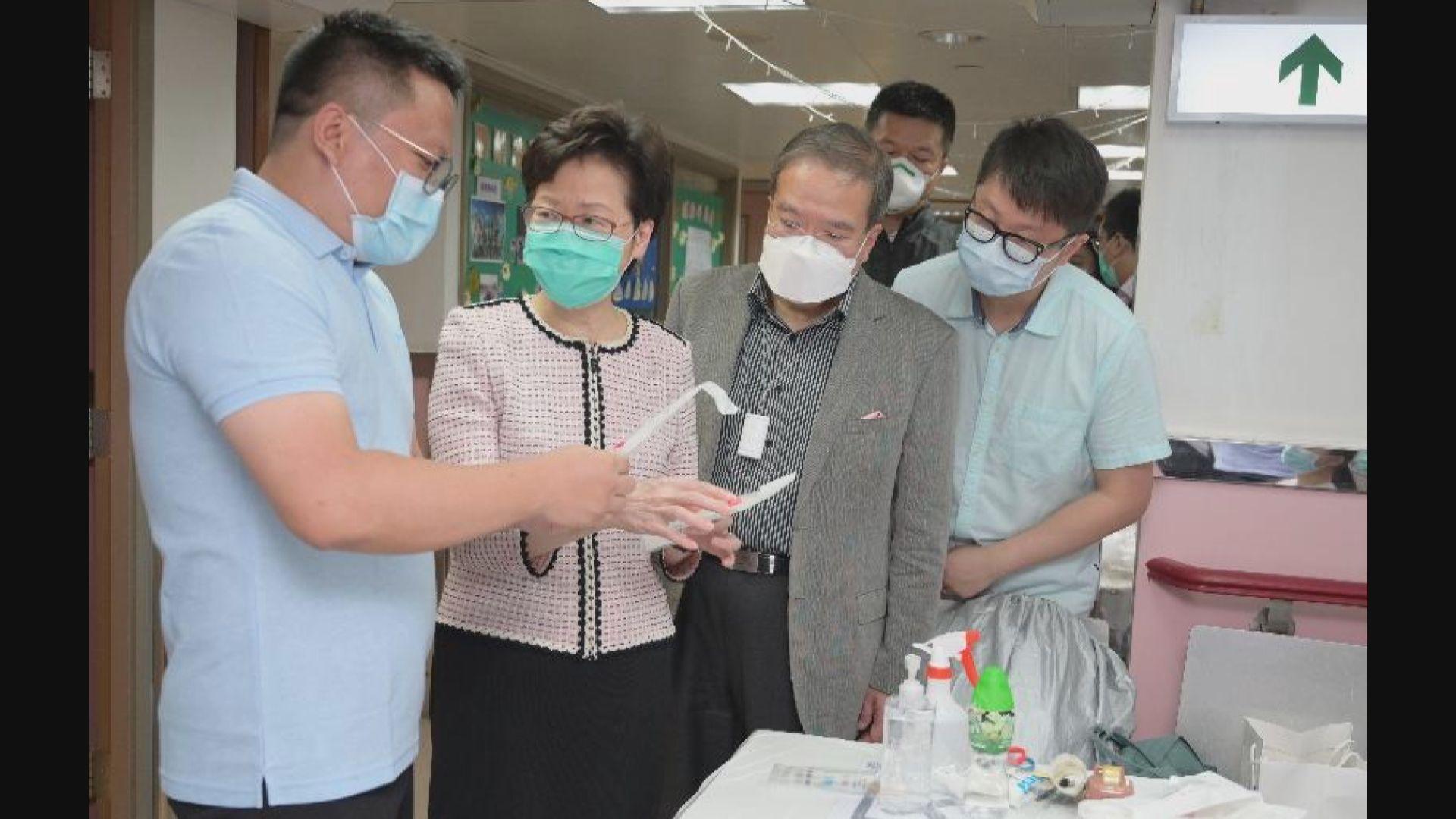 政府向兩間私營化驗所採購服務 為四類高危人士做檢測